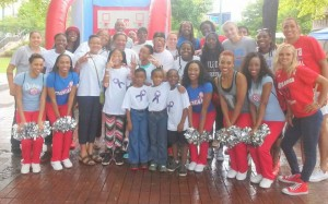 Atlanta Dream Support Vitiligo Awareness