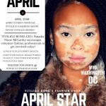 vitiligo bond's fashion show cover